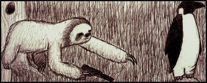 """two toed sloth vs three toed Costa rica is home to two species of sloth, the brown-throated three-toed sloth and hoffmann's two-toed sloth black eye patches and """"smiling"""" mouths."""