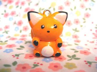 Orange Fox Charm by mAd-ArIsToCrAt