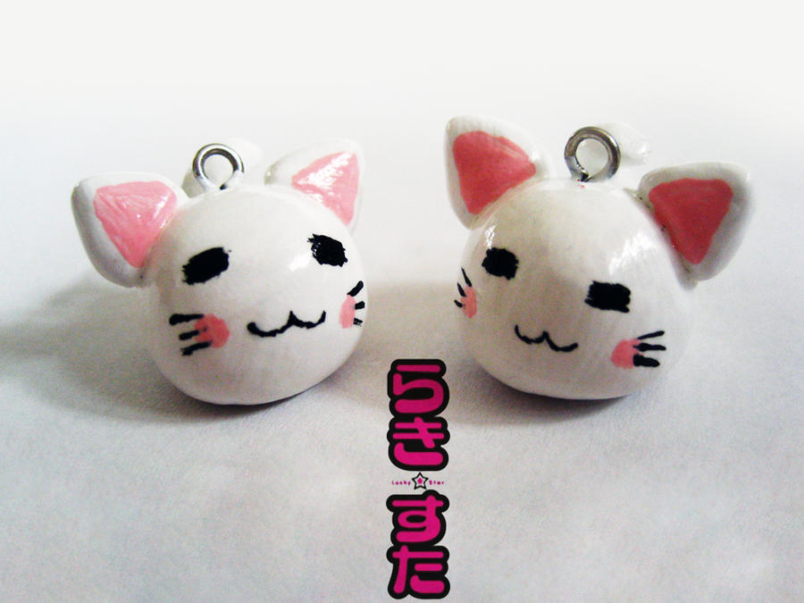 Lucky Star Cat Charms by mAd-ArIsToCrAt