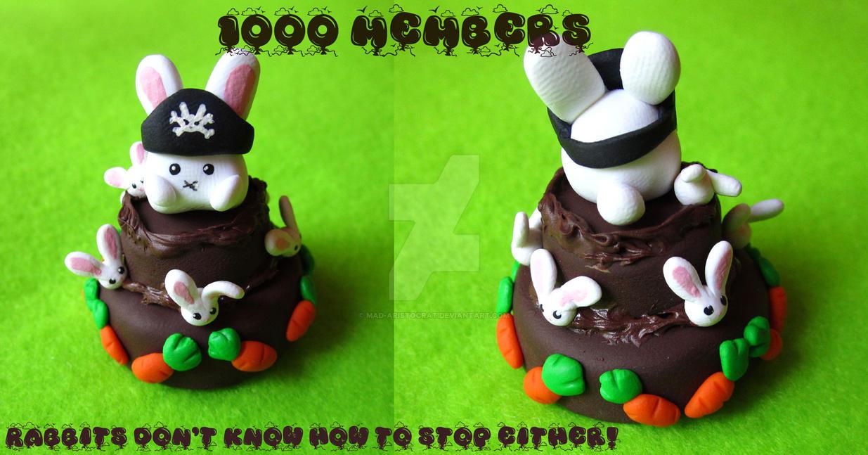 Rabbit Eat Carrot Cake