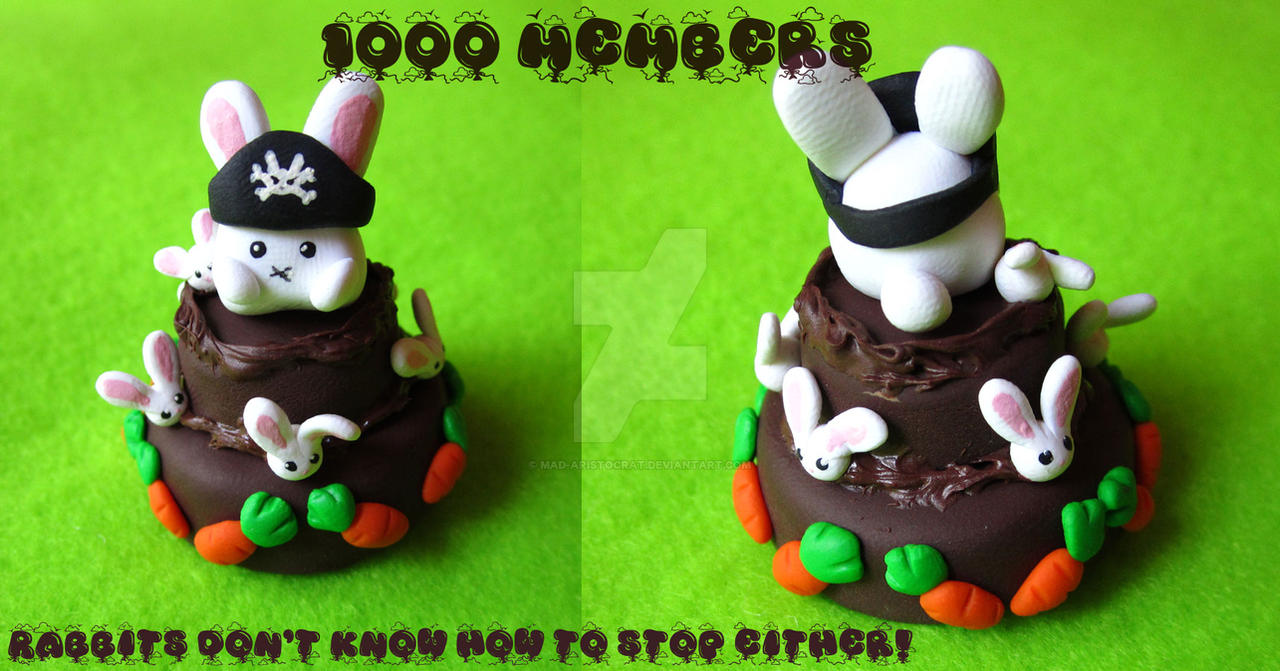 Rabbit Chocolate Carrot Cake by mAd-ArIsToCrAt