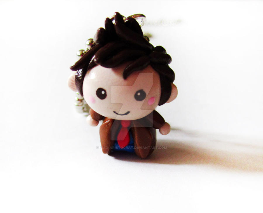 Doctor Who 10th Dr Chibi by mAd-ArIsToCrAt
