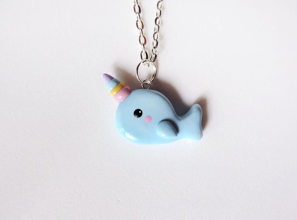 Rainbow Narwhal by mAd-ArIsToCrAt