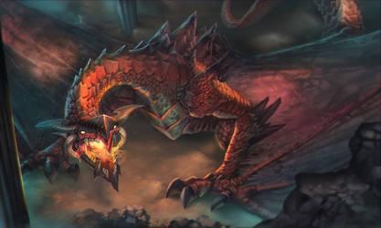 Red Dragon by fredrickruntu