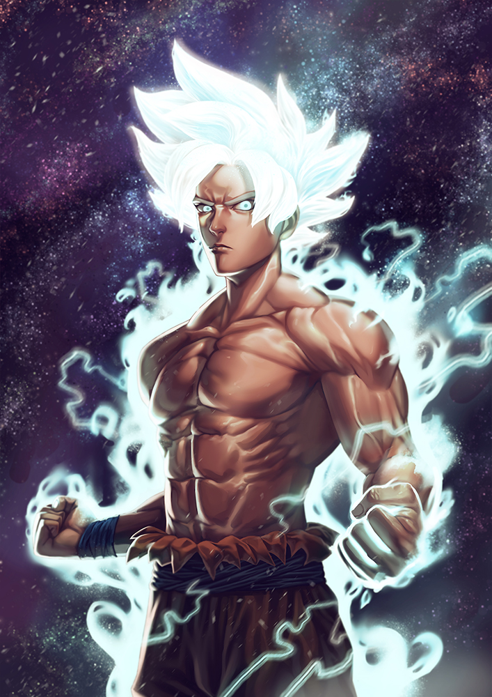 Son Goku ultra instinct by fredrickruntu