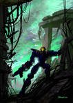 ROBO SCOUT concept painting