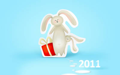 New Year wallpaper 1920x1200 by En-joyYourLife