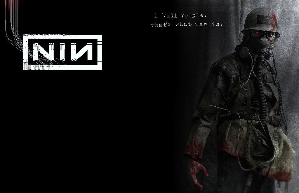 Nine Inch Nails - year zero by ValhallenExile on DeviantArt