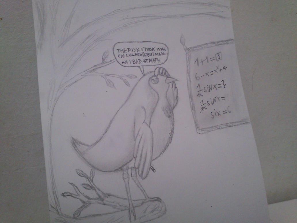 Mr bird for Typhoon by Zerat122
