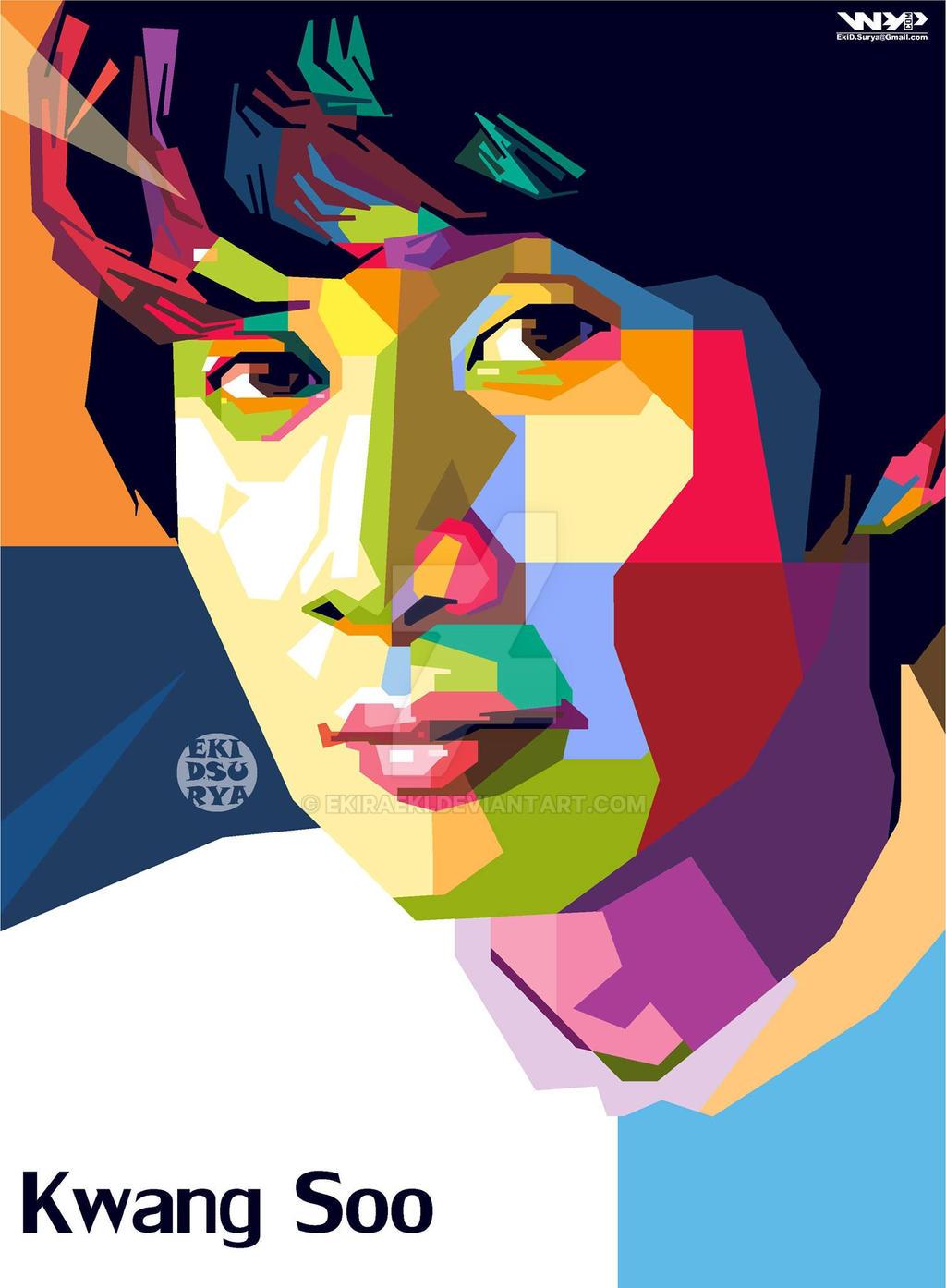 WPAP Lee Kwang Soo Running Man By EKIRAeki