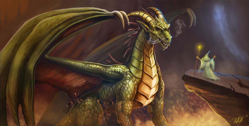 Meet a Dragon by cicakkia