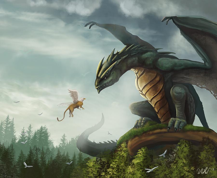 Wyvern Dragon: Wyvern By Cicakkia On DeviantArt