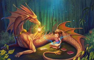 Dragon Guardian by cicakkia
