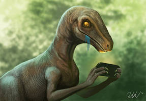 Clever Girl by cicakkia