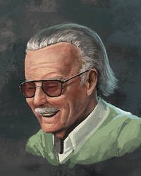 Stan Lee by cicakkia