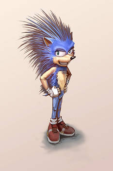 Sonic the Hedgehog (my version)