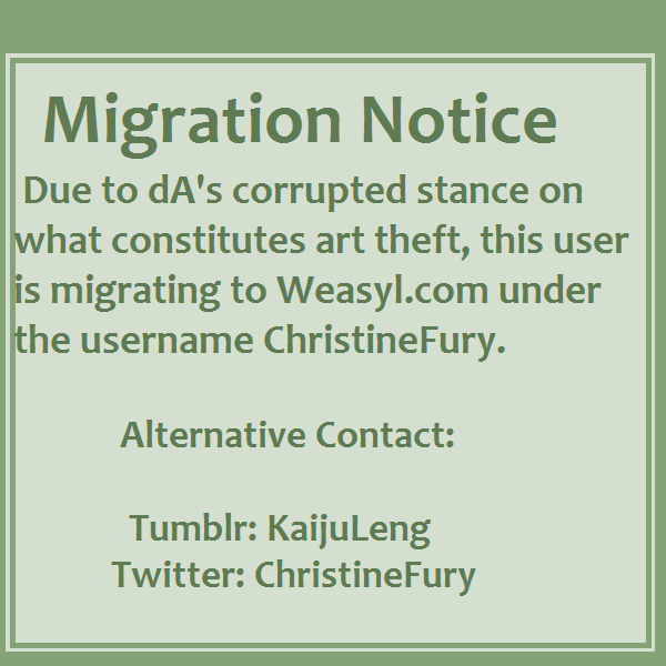Migration by ChristineFury