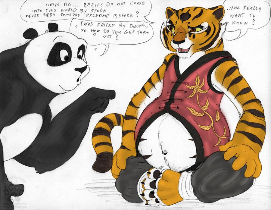 Pregnant Master Tigress by Preg-fur on DeviantArt