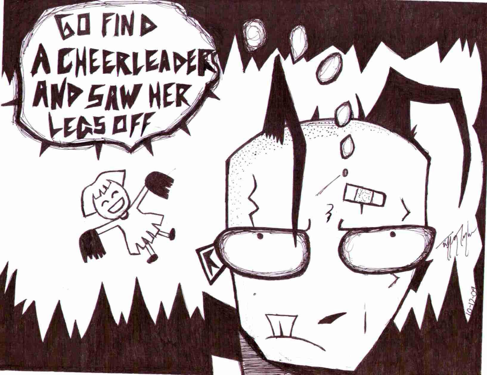 OOooh...a CHEERLEADER by InkMunkY
