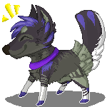 Pixel pooch by Billy-Bitchcakes