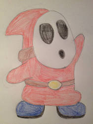 Shy Guy Color by ChaudStarpower