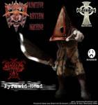 Pyramid Head White Metal