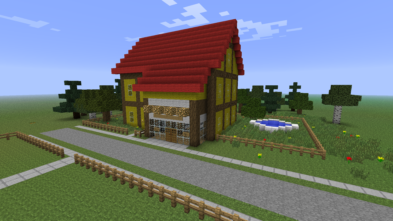 Village Store in Minecraft by CuteAndy on DeviantArt g2qZcgim