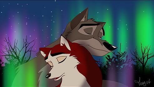 Balto and Jenna by