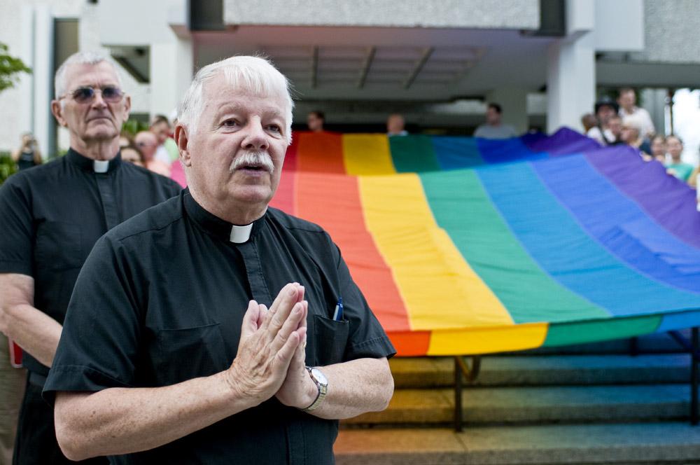 Priest in Union by digitalgrace