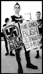 Only Bush I Trust Is My Own by digitalgrace