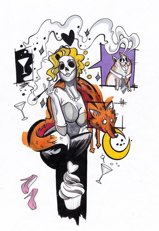 Foxy lady by futszak