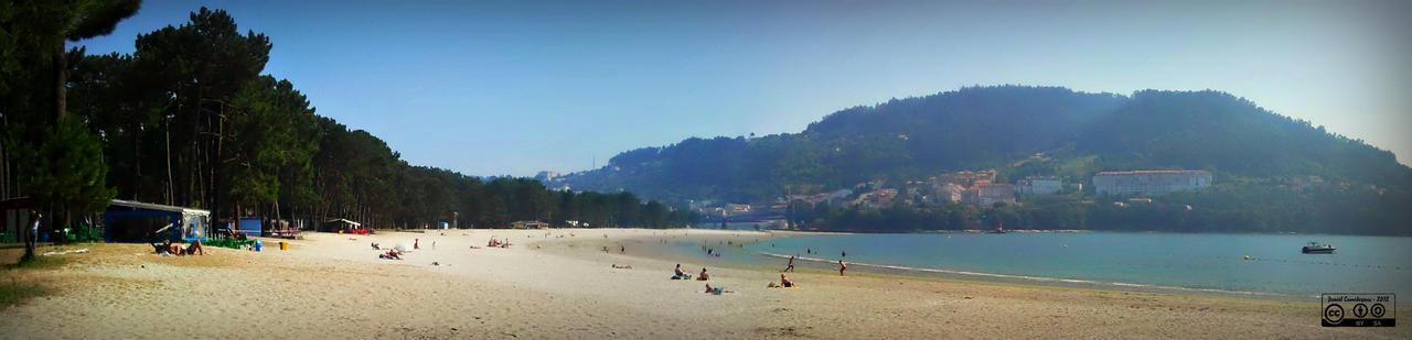 Panoramica Playa da Magdalena, Cabanas by carrodeguas