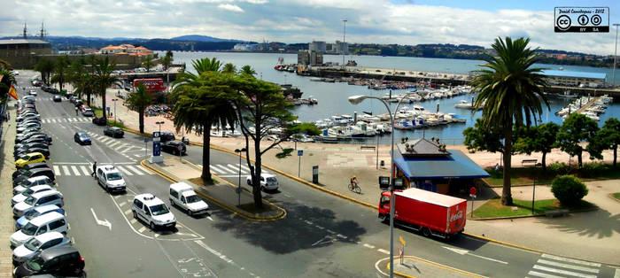 Puerto Ferrol, Spain