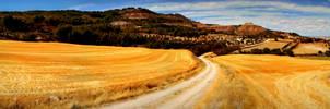 Landscape La Peraleja, Spain by carrodeguas