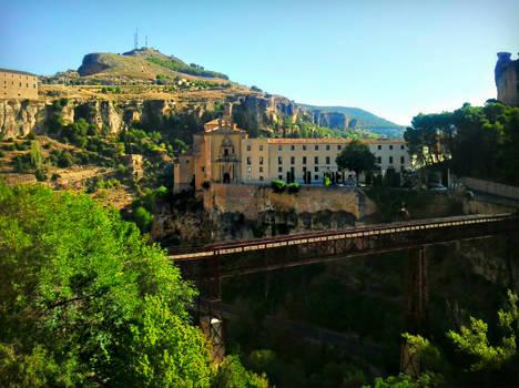 Bridge San Pablo, Cuenca, Spain by carrodeguas