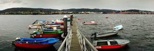Chalanas Ferrol, Spain by carrodeguas