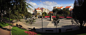 Plaza de Amboage Ferrol, Spain by carrodeguas