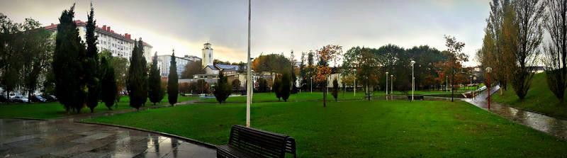 Parque Pablo Iglesias Ferrol, Spain
