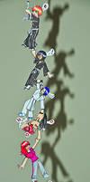 BLEACH Chibi Chain by yuuyami-artist