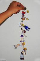 Kingdom Hearts-Chibi Chain by yuuyami-artist