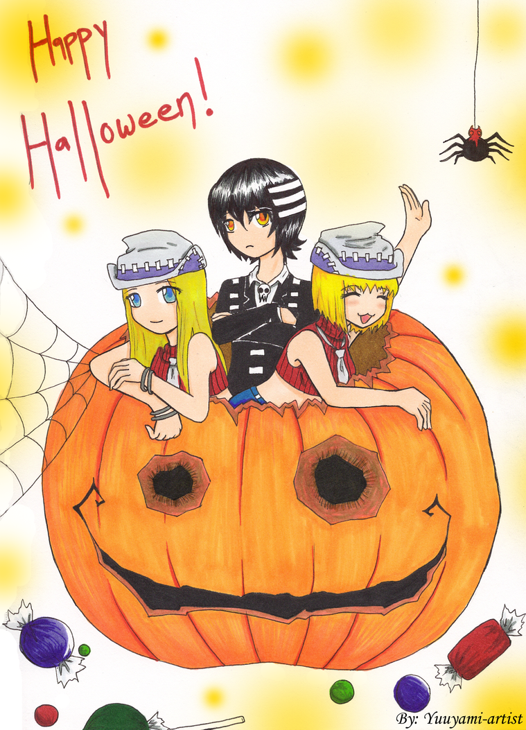 Happy halloween soul eater by yuuyami artist on deviantart - This is halloween soul eater ...