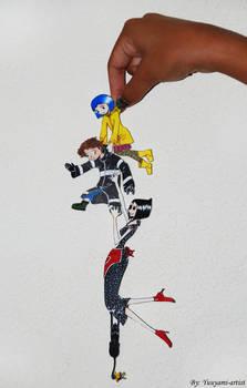 Coraline-Chibi Chain by yuuyami-artist