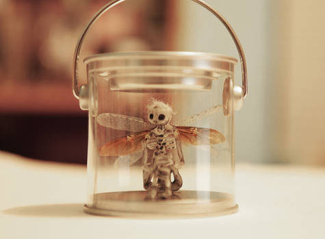 Fairy In A Pail -Puck- Glow in the Dark (For Sale)