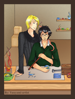 TURN - Drarry (After Epilogue) by yuuyami-artist