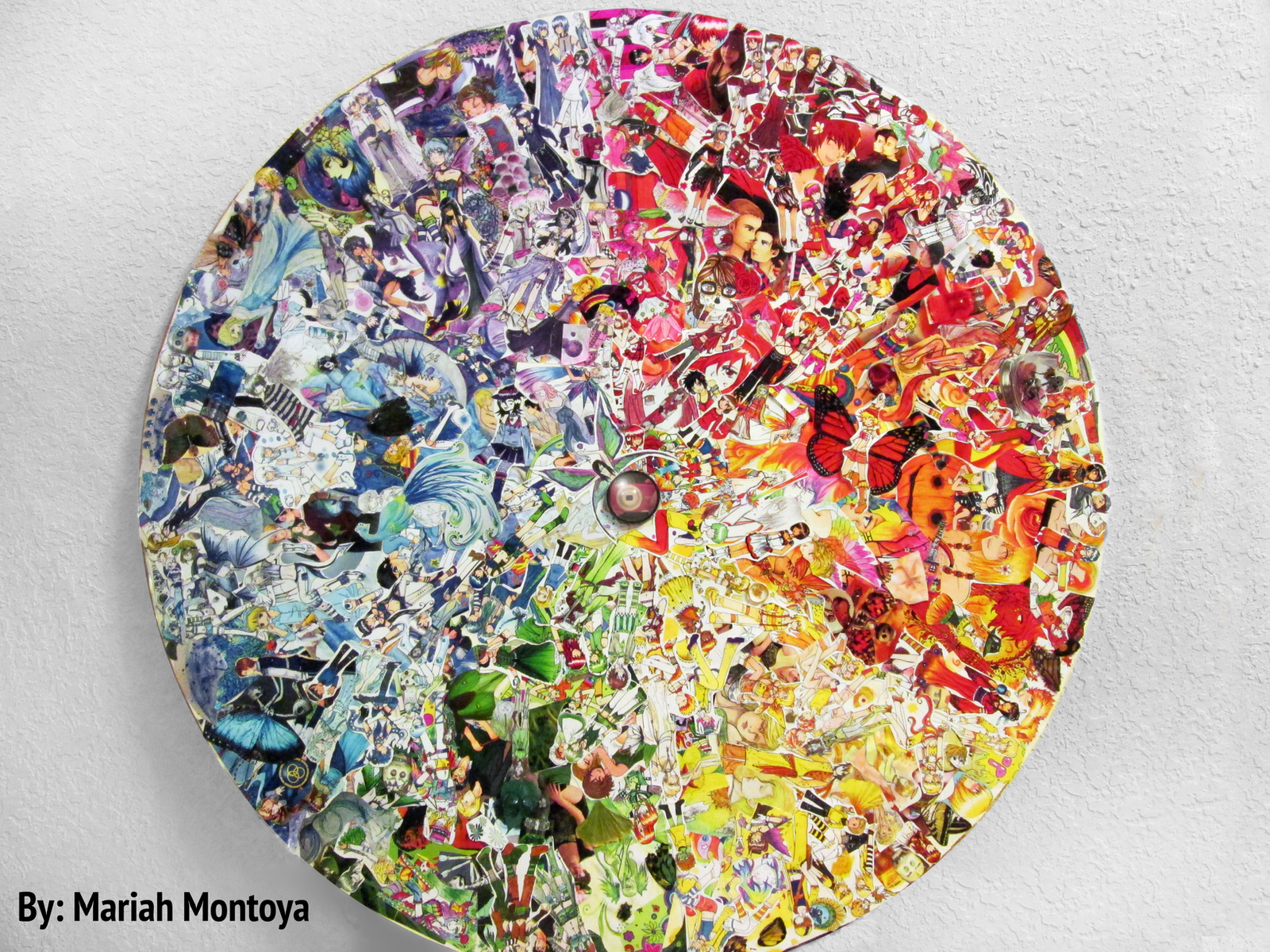 Identity Project - Color Wheel Collage by yuuyami-artist on DeviantArt