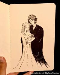 Inktober Day 13 - Family by yuuyami-artist