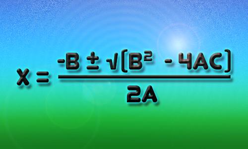 The Quadratic Formula Poster   Zazzle   Quadratic Formula Art