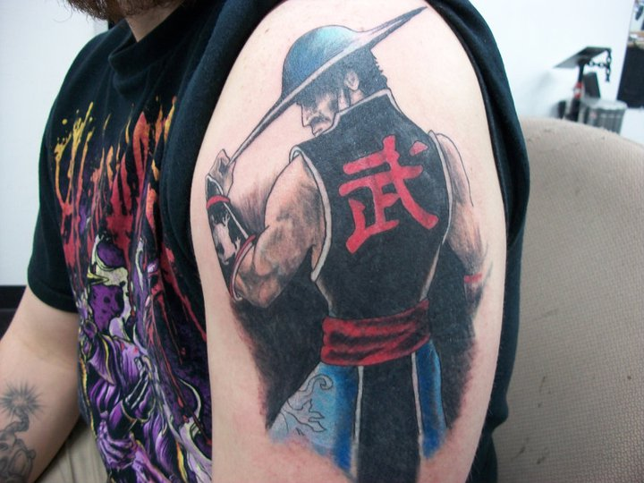Kung lao by needlescaine on deviantart for Laos tattoo designs