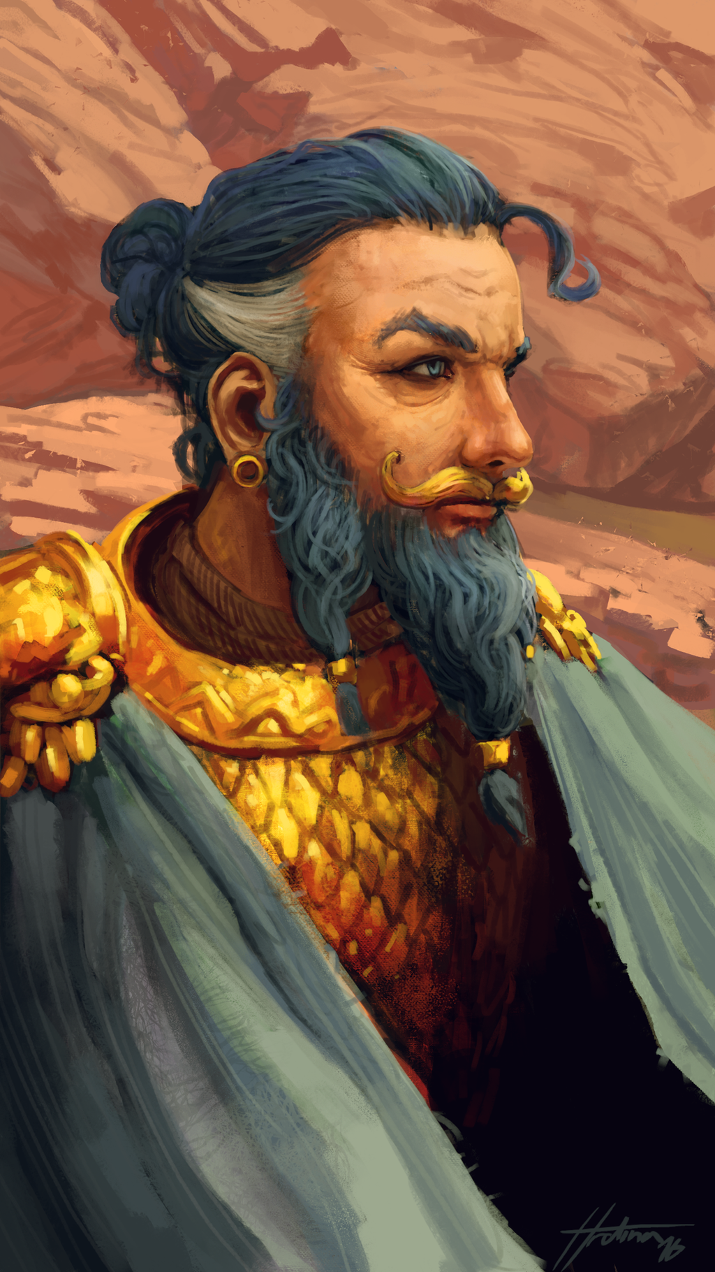 Daario Naharis by Xyrlei on DeviantArt Daario Naharis Arakh