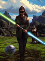 The Last Jedi by Xyrlei